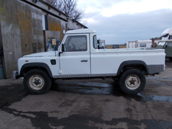 Land Rover Defender Pickup without cover